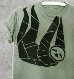 faultier_shirt_gruen_2